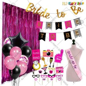 019X - Bride To Be Combo - Bachelorette Party Decorations - Set of
