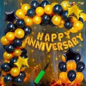 03W - Anniversary Decoration Combo - Set of 62