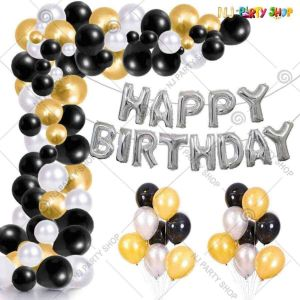 04Q - Birthday Party Decoration Combo - Set of