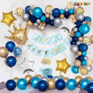 04W - Birthday Party Decoration Combo - Set of