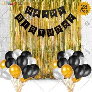 06K - Birthday Party Decoration Combo - Set of