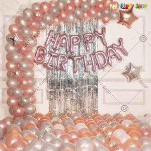 06P - Birthday Party Decoration Combo - Set of