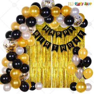 06Q - Birthday Party Decoration Combo - Set of