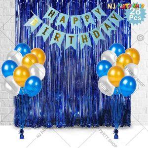 07K - Birthday Party Decoration Combo - Set of