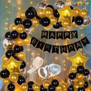 07Q - Birthday Party Decoration Combo - Set of