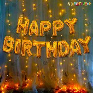 08P - Birthday Party Decoration Combo - Set of