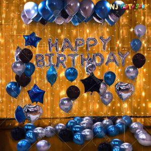 08Q - Birthday Party Decoration Combo - Set of