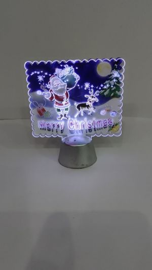 Christmas Decoration Showpiece With lights - Model 1005