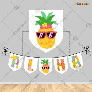 Aloha Beach Theme Decoration Banner