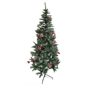 Artificial Christmas Snow Pine Dense Tree - 8 Feet