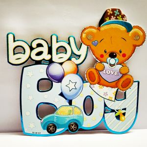 Baby Boy Sunboard Hanging Decoration - Model 1004