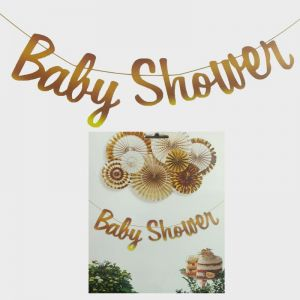 Baby Shower Banner Bunting