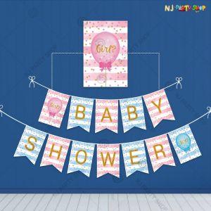 Baby Shower Banner - Model 1001