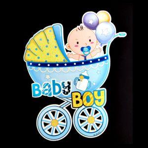 Baby Shower Decoration Posture - Blue