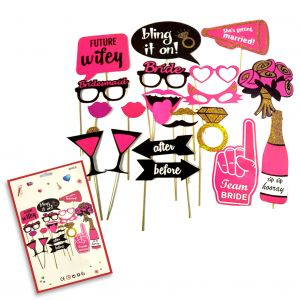 Bachelorette Party Photo Booth Props - Bride To Be Props