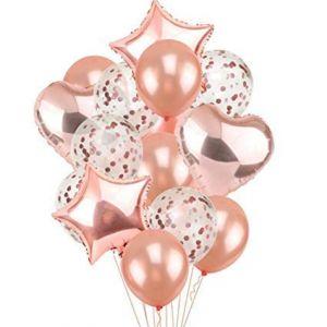 Balloon Combo - Rose Gold - Set Of 14