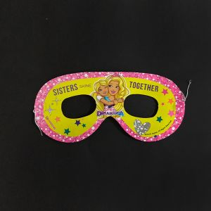 Barbie Theme Paper Eye Mask - Set of 10