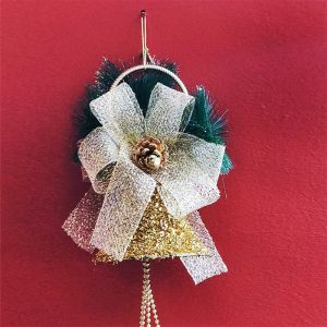 Big Golden Ball/Bell Hanging - Xmas Decorations