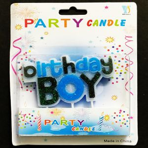 Birthday Boy Candle - Boy