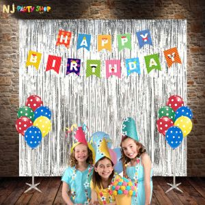 0108A Model - Birthday Decoration Combo Kit - Multi Color