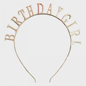 Birthday Girl Hair Band - Metal