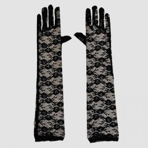Black Gloves - Halloween Costume