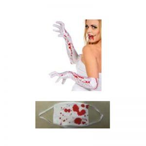 Blood Gloves & Mask