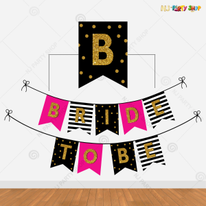 Bride To Be Banner - Bachelorette Party Decorations - Model 200Y