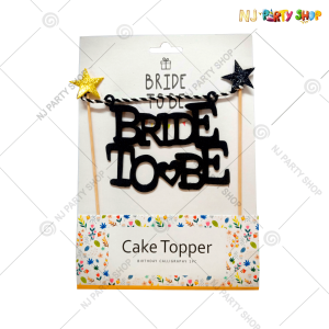 Bride To Be Cake Topper – Model 200B