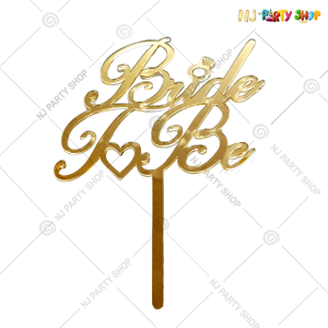 Bride To Be Cake Topper – Model 200G