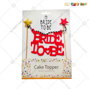 Bride To Be Cake Topper – Model 200H