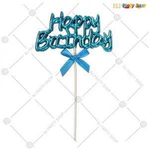 Cake Topper - Blue