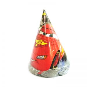 Car Theme Birthday Caps - Set of 10