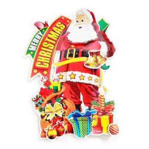Christmas Big Paper Posture/Sticker - Xmas Decoration - Model 14XY