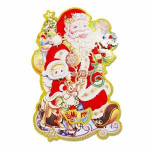 Christmas Paper Posture/Sticker - Xmas Decoration - Model 5XY