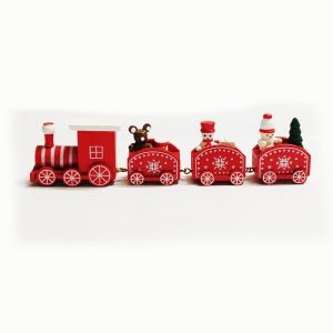 Christmas Wooden Train