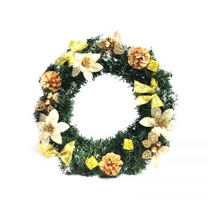 Christmas Wreath Golden - Model 1001