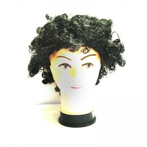 Curly Clown Afro Malinga Wig - Black Colour