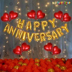 01W - Anniversary Decoration Combo - Set of 57