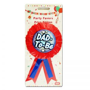 Baby Shower - Dad To Be Badge