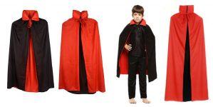 Halloween Dracula Costume Double Sided - Kids