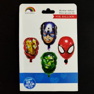 Avengers Spiderman Shape Foil Balloon