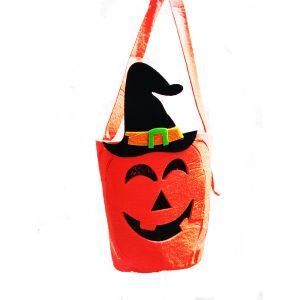 Foam Pumkin Face Bucket for Halloween