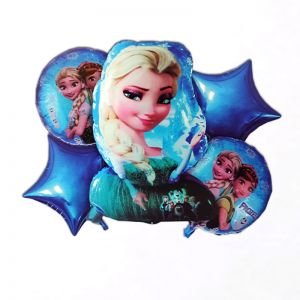 Frozen 5 Pieces Set Foil Balloon
