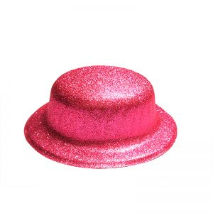 Glitter Party Hats - Pink