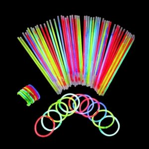 Glow in the Dark Bands - Set of 20