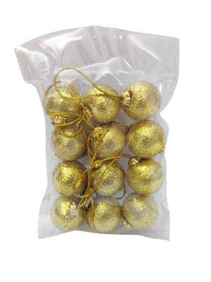 Golden Balls Christmas Tree Decoration Ornaments - Model 1001