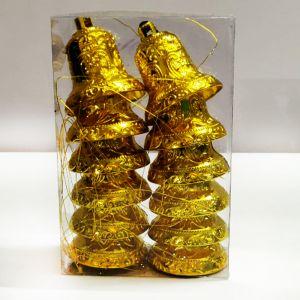 Golden Bells Hanging Ornaments