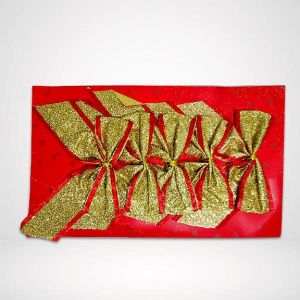 Golden Bow - Christmas Tree Decoration Ornaments