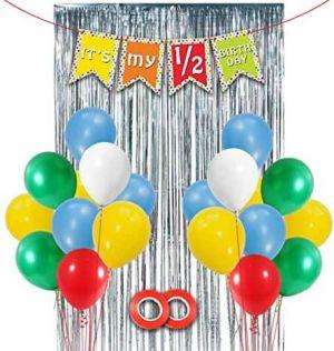 Half Birthday Decoration Combo - Set Of 32